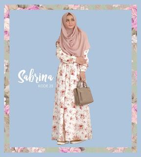 Gamis Jasmine Sabrina Dress 25