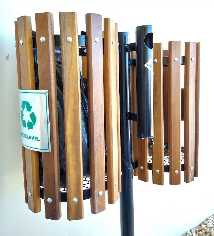 Projeto Recicla Aí vai instalar 116 lixeiras na Avenida Nereu Ramos