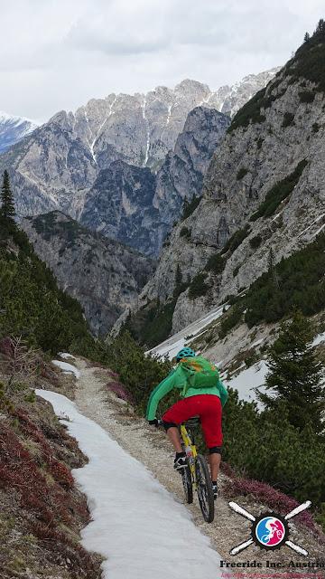 Ausgesetzt Biketrails Dolomiten