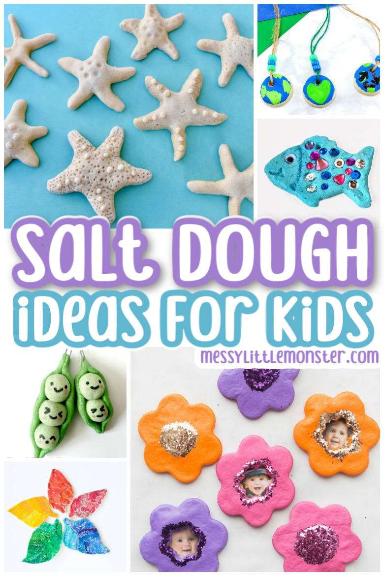 Fun and easy salt dough ideas for kids
