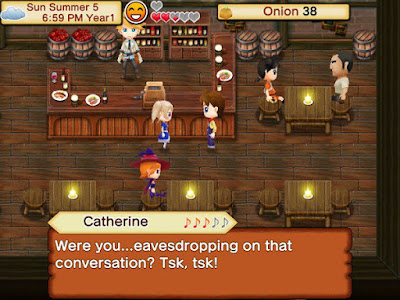 example game play harvest moon seeds of memories