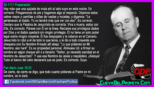 Necesita Sanidad Escuche Esto - William Branham en Español