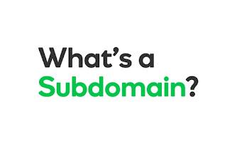 Perbedaan domain dan subdomain