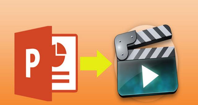 كيفية تحويل ملفات الباور بوينت إلي فيديو