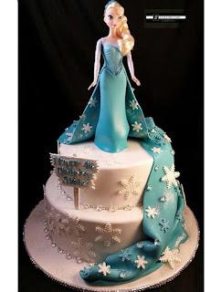 foto kue ulang tahun frozen