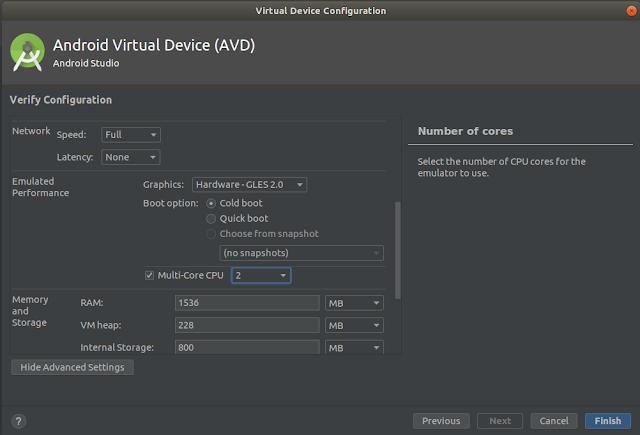 AVD Configuration - Graphics