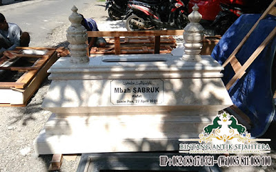 Makam Modern Bahan Marmer, Model Makam Modern, Harga Makam Marmer Murah