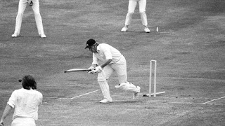 First ever World Cup Semi-final Match in Cricket History - Barry Wood bowled