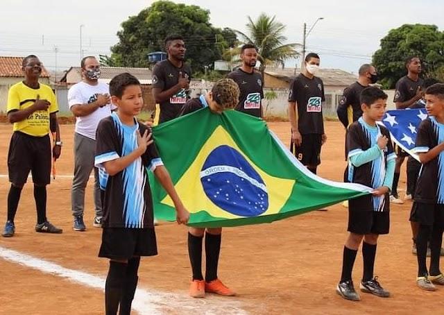 Águas Lindas tem abertura do 8º Campeonato Municipal de Futebol