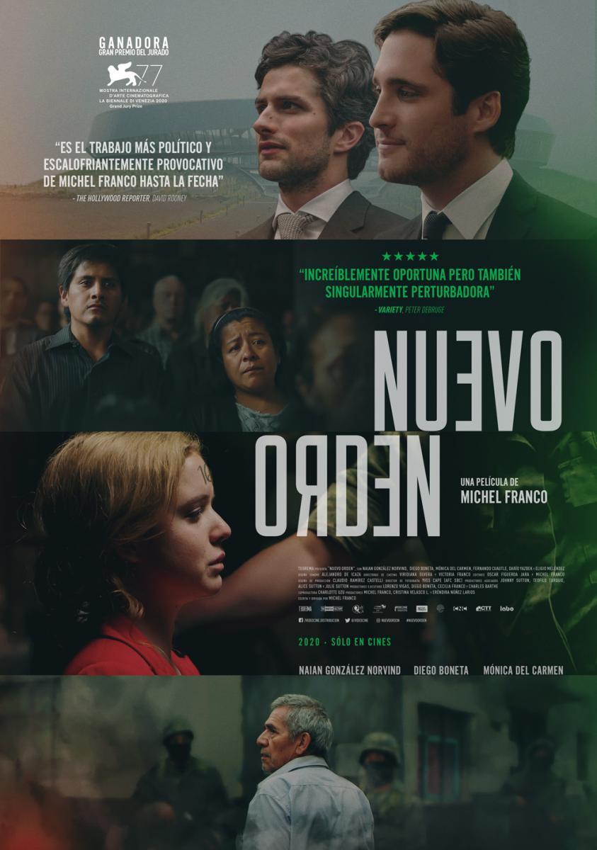 Nuevo Orden (2020) México 1080p audio cine