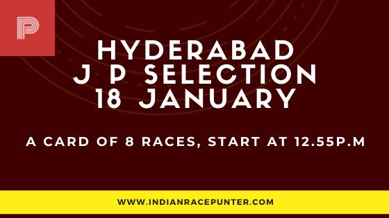 Hyderabad Jackpot Selections 18 January