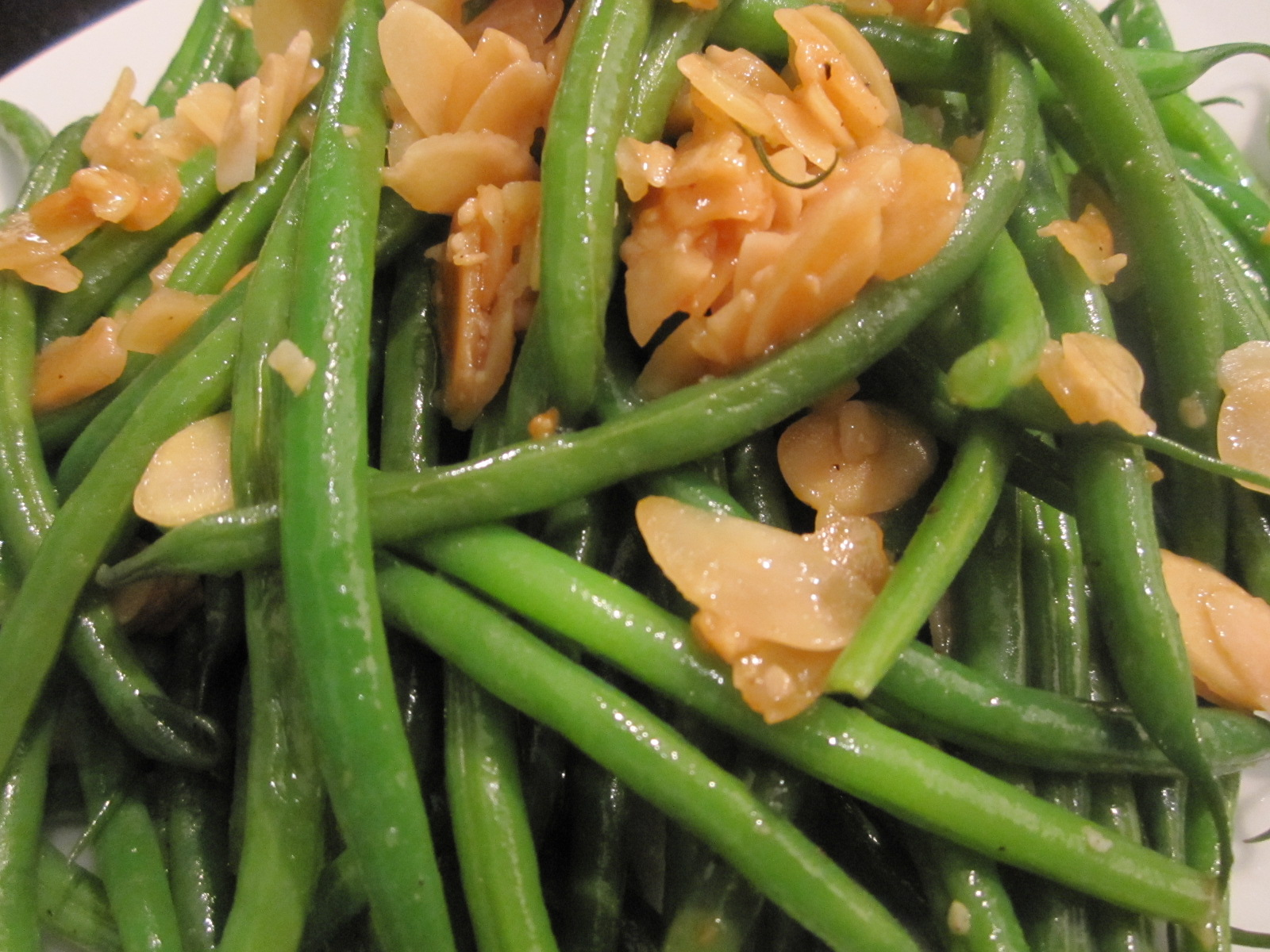 Sophie In The Kitchen Garlicky French Green Beans With