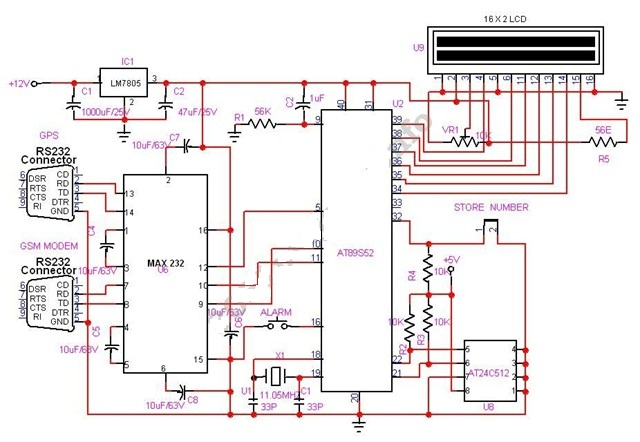 Micro Minds Vehicle Tracking System Using Gps And Gsm Modem
