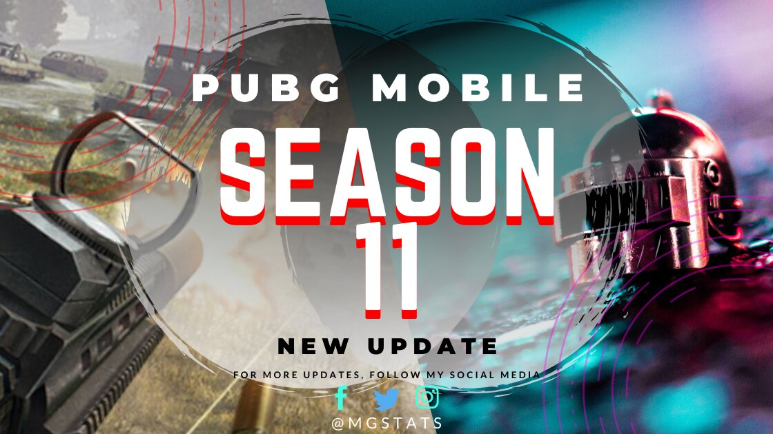 PUBG MOBILE Season 11 Update
