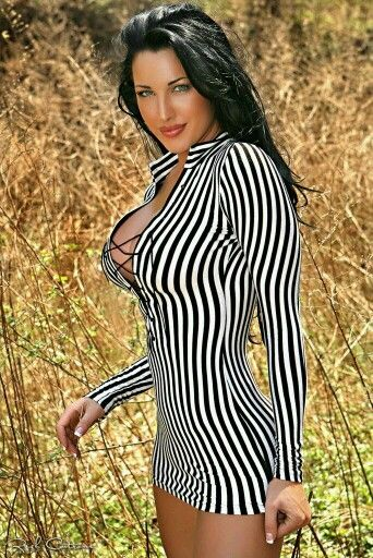 bonito vestido zebra