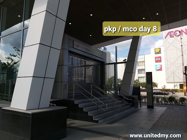 pkp / mco day 8 malaysia