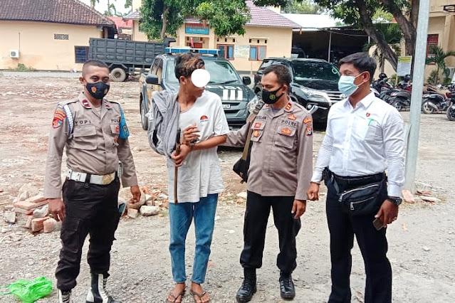 Gentleman, jambret di Sumbawa serahkan diri ke Polisi