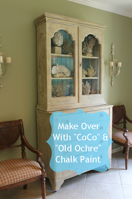 Old Ochre chalk paint