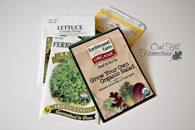 Lettuce seeds are viable to up to five years.