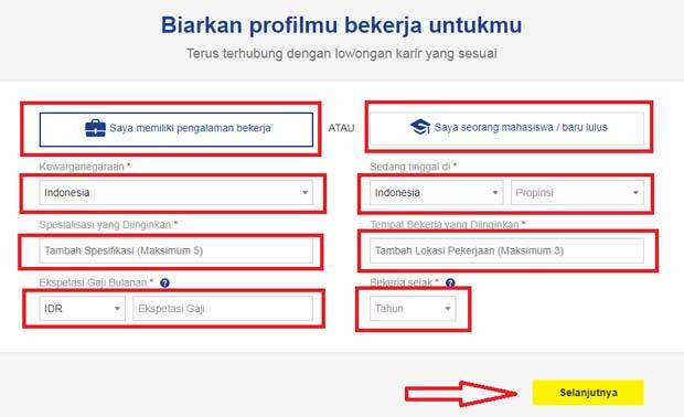 Panduan Cara Mudah Mendaftar di Situs Resmi Jobstreet