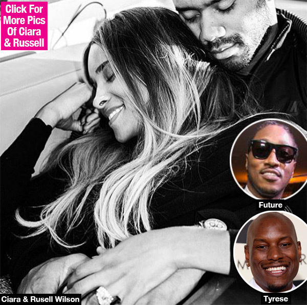 Tyrese Shading Future By Celebrating Ciara's Pregnancy With Russell Wilson? See Pic