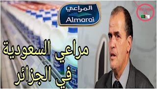 ملبنة المراعي السعودية قريبا في الجزائر تصريح وزير التجارة الجزائري كمال رزيق ,المراعي ااسعودية,saudia