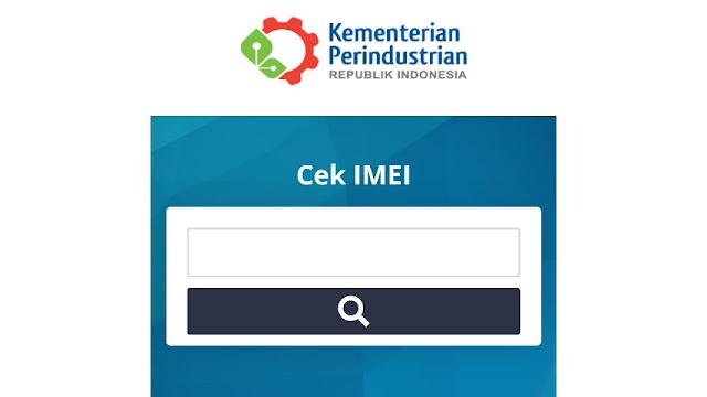 Cara cek IMEI Xiaomi melalui website Kemenperin