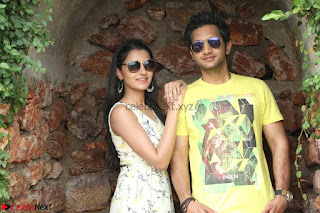 Rukshar Mir romancing Ashish Raj in Aakatayi 03.jpg