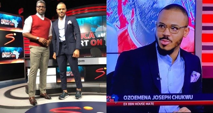 Watch BBNaija's Ozo As He Makes His Debut On Super Sports Channel (VIDEO)