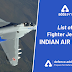 List of Fighter Jets of Indian Air Force