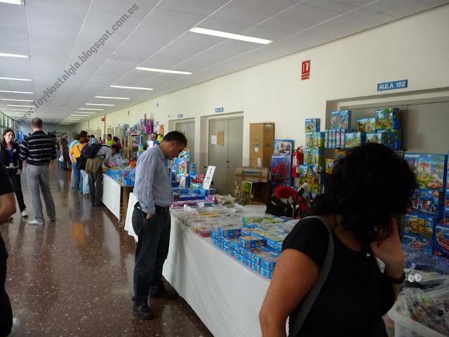 Puestos de venta de Playmobil en Feria de coleccionostas - Barcelona