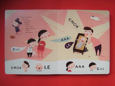 Pucio uczy się mówić, zabawy dźwiękonaśladowcze, książki logopedyczne