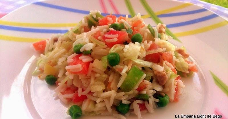 La empana light de bego ensalada completa de arroz basmati - Ensalada de arroz light ...