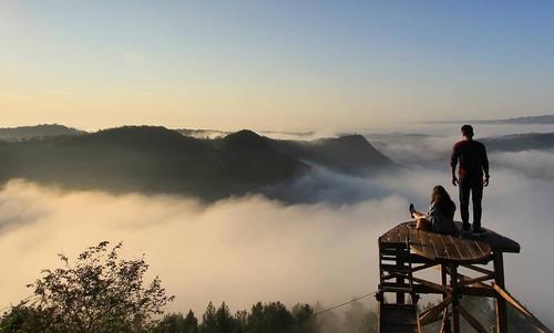 Bukit panguk kediwung wisata alam jogja