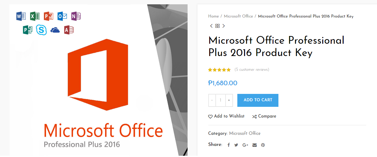 office pro plus 2016 product key 2018