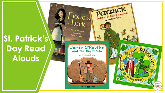 In search of ELA St. Patrick's Day Activities for Upper Elementary students? Try reading books aloud to them.