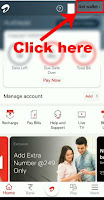 change airtel postpaid plan online