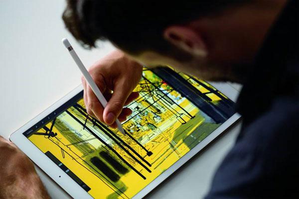 lápis da Apple