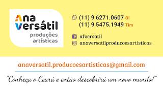 Cartão de visita para Ana Versátil Produções Artísticas por Minuta Linguagem Visual