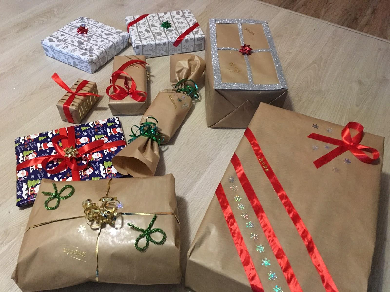 oryginalne pakowanie prezentów