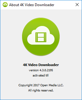 4k Video Downloader 4.4 Crack