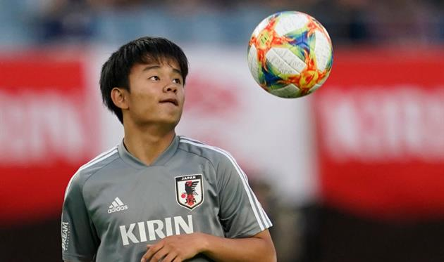 «Реал» будет платить 18-летнему японцу Кубо 1,2 млн евро в год. «Барса» предлагала 250 тысяч