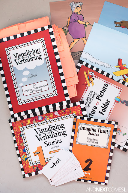 Homeschool version of the Visualizing and Verbalizing for language comprehension and thinking - a full review