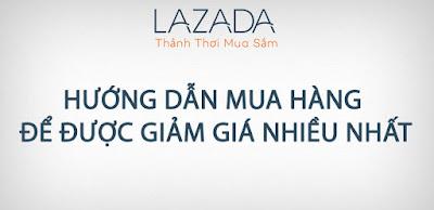 hướng dẫn mua hàng lazada
