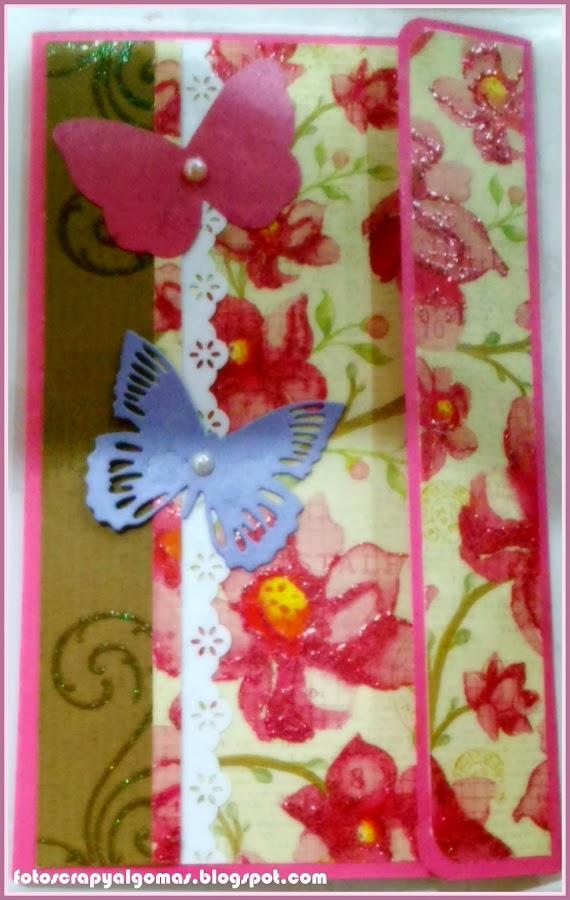 Tarjeta Cumpleaños hecha a mano
