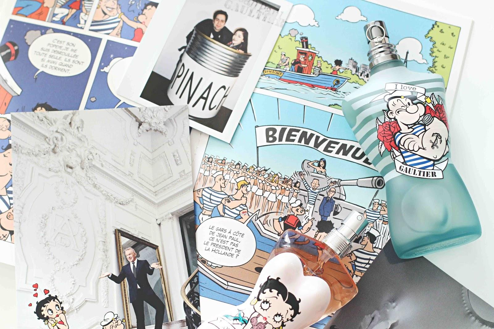 Le Mâle Eau Fraîche Edition Limitée Popeye Loves JPG
