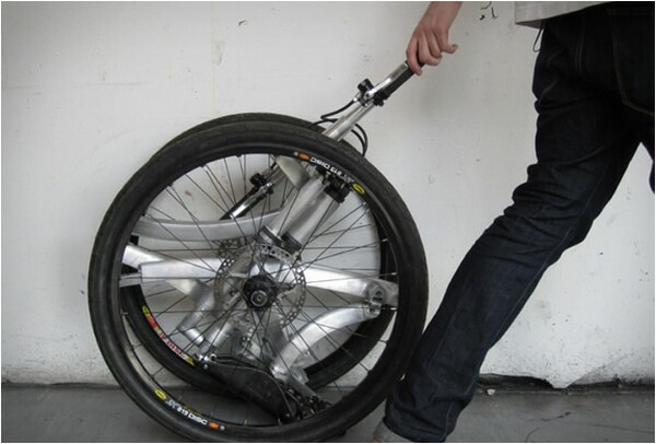 ultra-compact folding bike