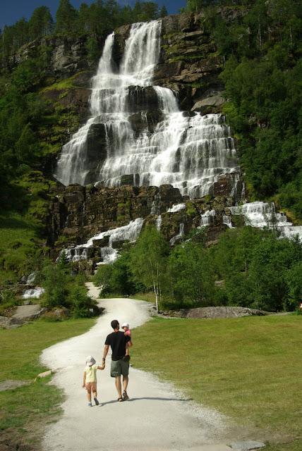 Wodospady Norwegia
