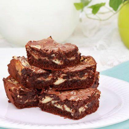 Marbled Cream-Cheese Brownies Recipe