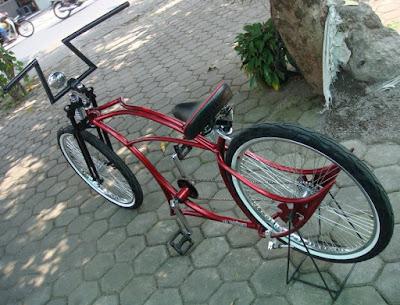 Modifikasi Sepeda Drag